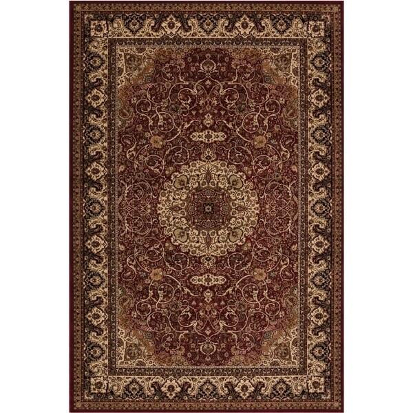 Concord Global Persian Classics Iris Red Area Rug - 6'7 x 9'6