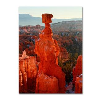 Pierre Leclerc 'Bryce Canyon Thor's Hammer' Canvas Art