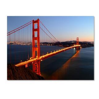 Pierre Leclerc 'Golden Gate SF' Canvas Art