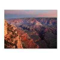 Pierre Leclerc 'Grand Canyon Sunrise' Canvas Art