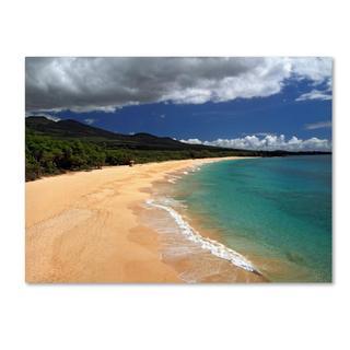 Pierre Leclerc 'Makena Maui' Canvas Art
