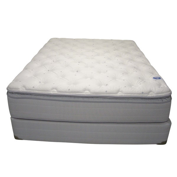 Spring Air Value Addison Plush King-Size Mattress Set