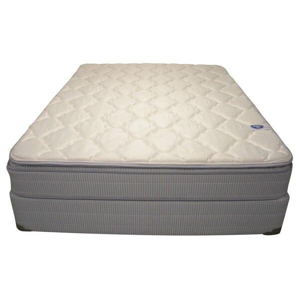 Spring Air Value Abbott Pillowtop Twin-size Mattress Set