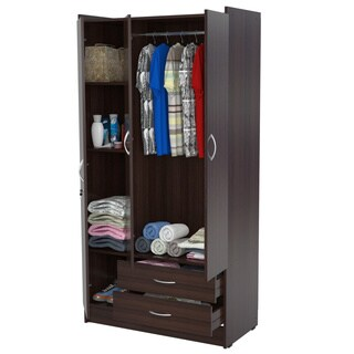 Clay Alder Home Fremont 3 Door Espresso Armoire