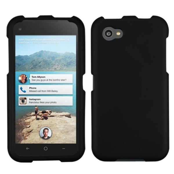 BasAcc Black Rubberized Case for HTC First