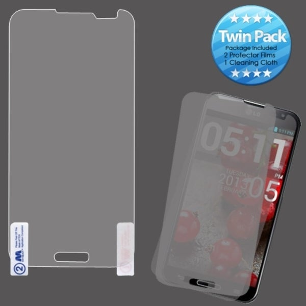INSTEN LCD Screen Protector Twin Pack for LG E980 Optimus G Pro