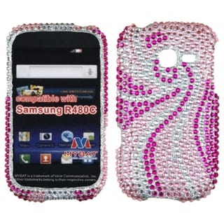 INSTEN Phoenix Tail Diamante Phone Case Cover for Samsung R480C