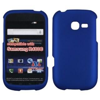 INSTEN Titanium Solid Dark Blue Phone Case Cover for Samsung R480C