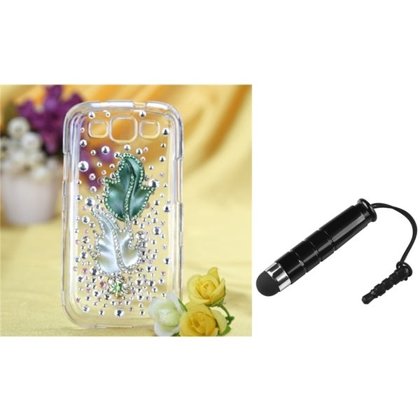 BasAcc Diamante Case/ Stylus for Samsung© Galaxy S III/ S3 I9300