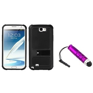 INSTEN Mini Stylus/ Phone Case Cover for Samsung Galaxy Note II T889/ I605/ N7100