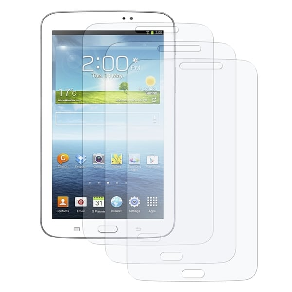 INSTEN Clear Screen Protector for Samsung Galaxy Tab 3 7.0 (Pack of 3)