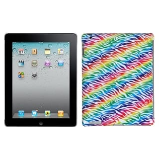 INSTEN Colorful Zebra Tablet Case Cover for Apple iPad 1/ 2/ 4