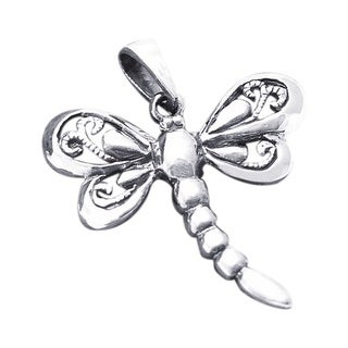 Sterling Silver Magical Dragonfly Pendant (Thailand)