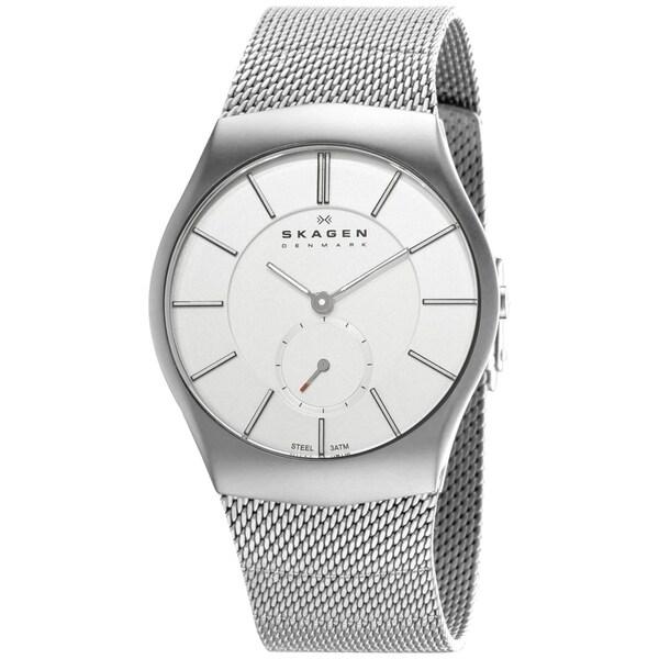 Skagen Men's 916XLSSS Stainless Steel Quartz Watch