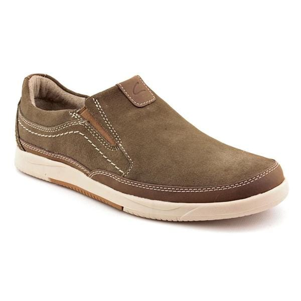 Clarks Men's 'Vulcan Remus' Olive Green Regular Suede Casual Shoes