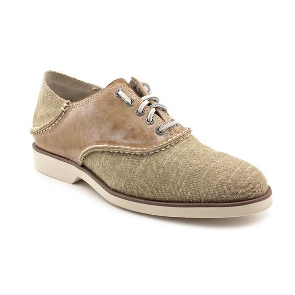 Sperry Top Sider Men's 'Boat Ox Saddle Canvas' Beige Canvas Casual Shoes