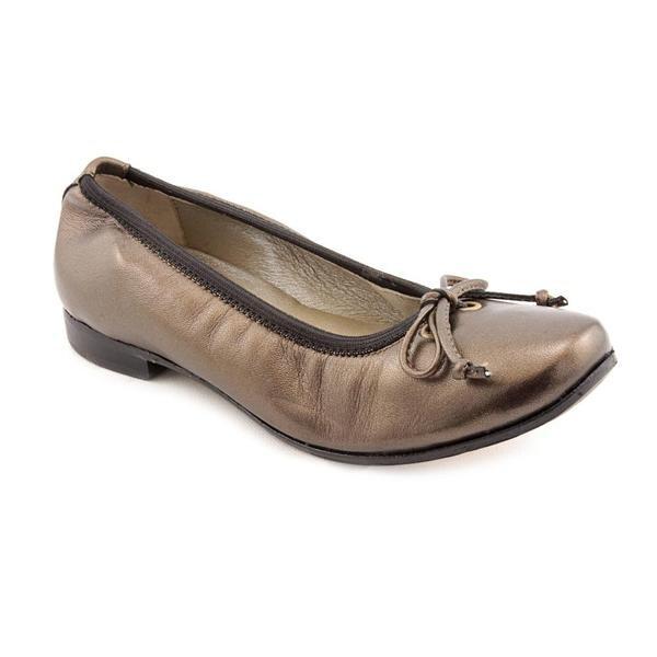Robert Zur Women's 'Kim' Bronze Leather Casual Shoes - Extra Narrow
