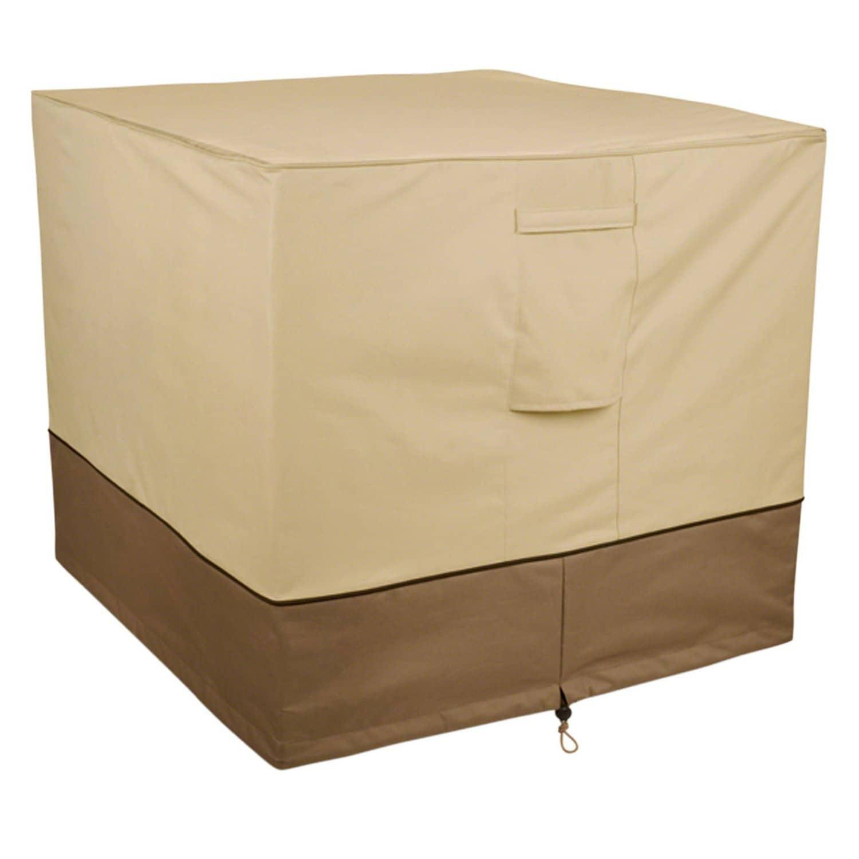 Classic Veranda Air Conditioner Cover, Beige (Fabric)