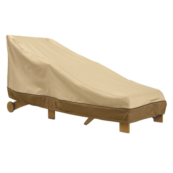 Veranda patio chaise cover free shipping today for Chaise lounge cover