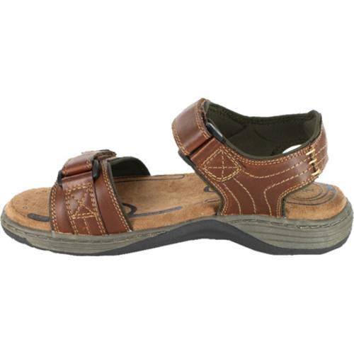 Men's Nunn Bush Regan Cognac Smooth Canvas - Thumbnail 2