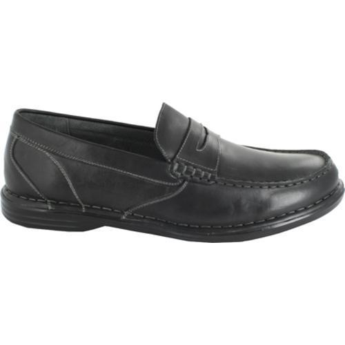 Men's Nunn Bush Stanwick Black Leather - Thumbnail 1