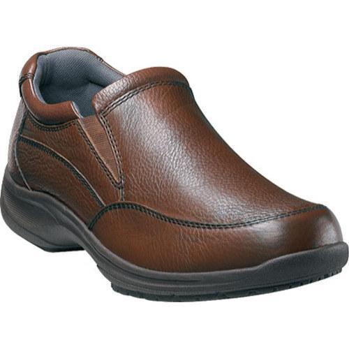 Men's Nunn Bush Strutt Brown Tumbled Leather
