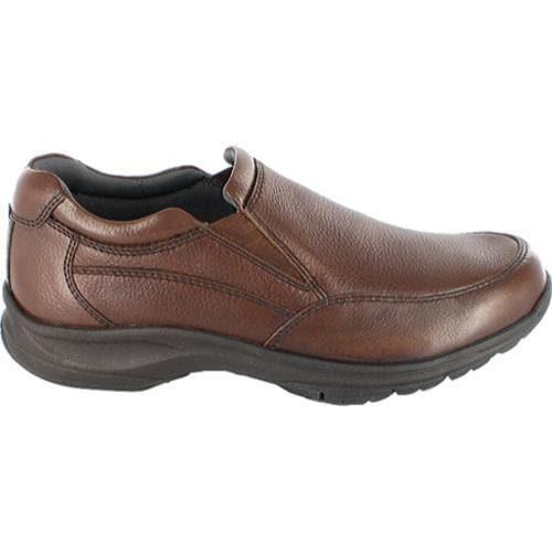 Men's Nunn Bush Strutt Brown Tumbled Leather - Thumbnail 1