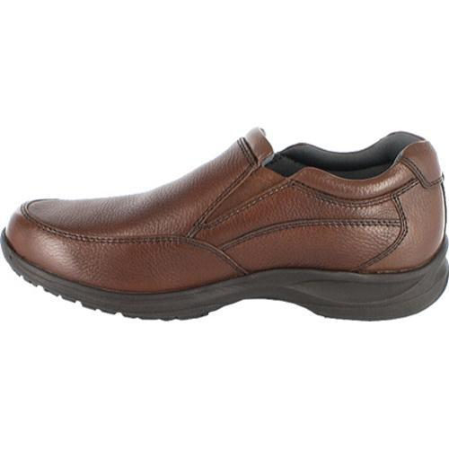 Men's Nunn Bush Strutt Brown Tumbled Leather - Thumbnail 2