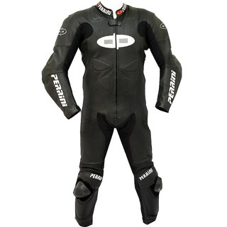Perrini Fusion Motorcycle Riding Racing Leather Suit (Option: Xxxl)