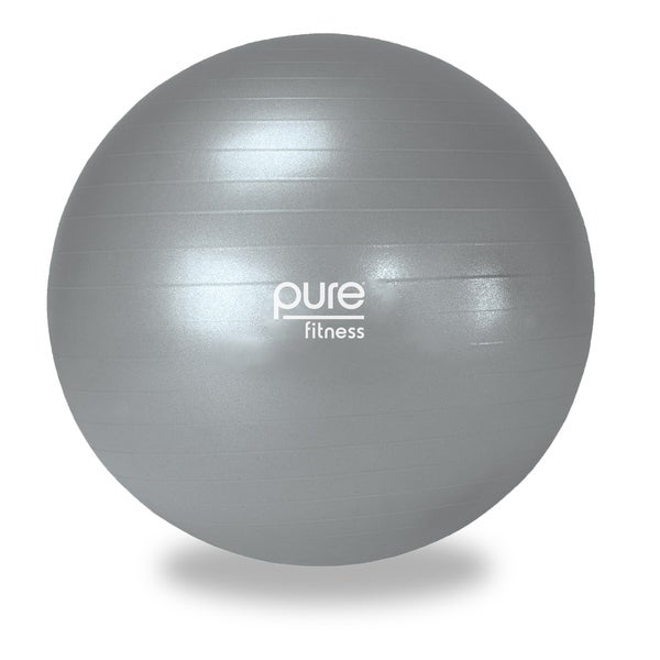 Exercise Ball 75cm Anti Burst: Shop Pure Fitness 75cm Professional Anti-burst Exercise