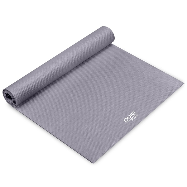 Pure Fitness 3.5mm Yoga Mat - Charcoal - Grey