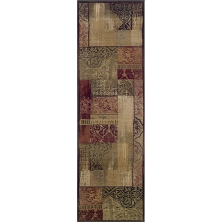 Generations Green/ Beige Rug (2'7 x 9'1)