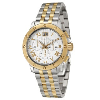 Raymond Weil Men's 'Tango' Yellow Goldglated Chronograph Watch