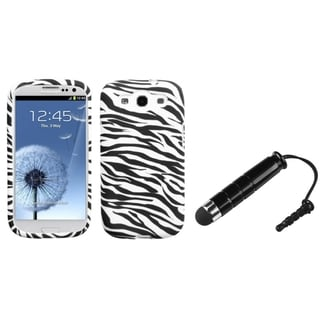 INSTEN Candy Skin Phone Case Cover/ Mini Stylus for Samsung Galaxy SIII/ S3