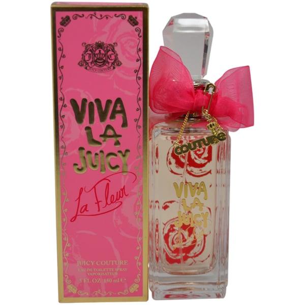 Shop Juicy Couture Viva La Juicy La Fleur Women s 5-ounce Eau de ... 030b7757b
