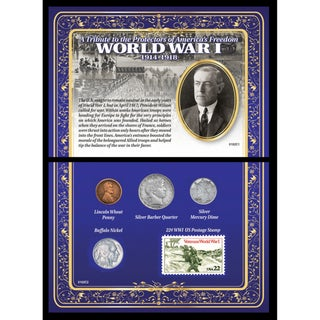 American Coin Treasures A Tribute to the Protectors of American Freedom World War I 1914-1918