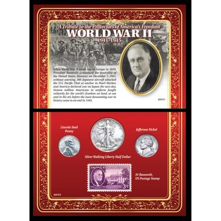 American Coin Treasures A Tribute to the Protectors of American Freedom - World War II 1941-1945