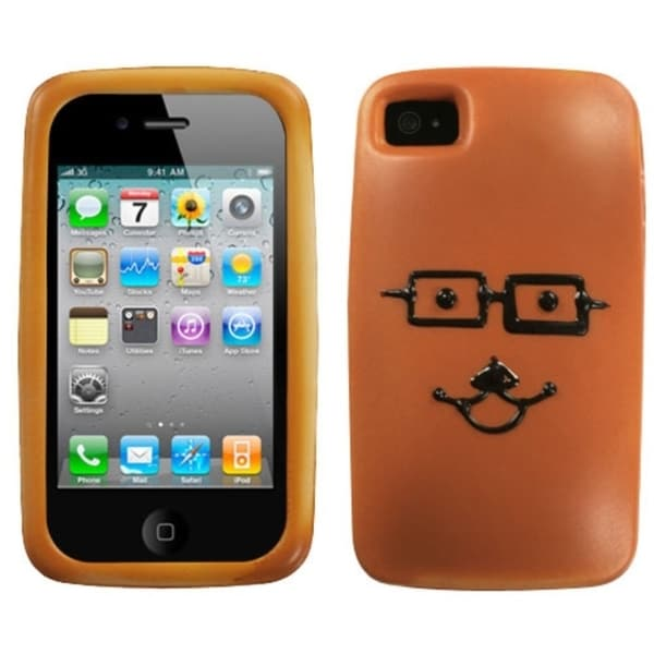 INSTEN Bun Brainy Bread Phone Phone Case Cover for Apple iPhone 4S/ 4