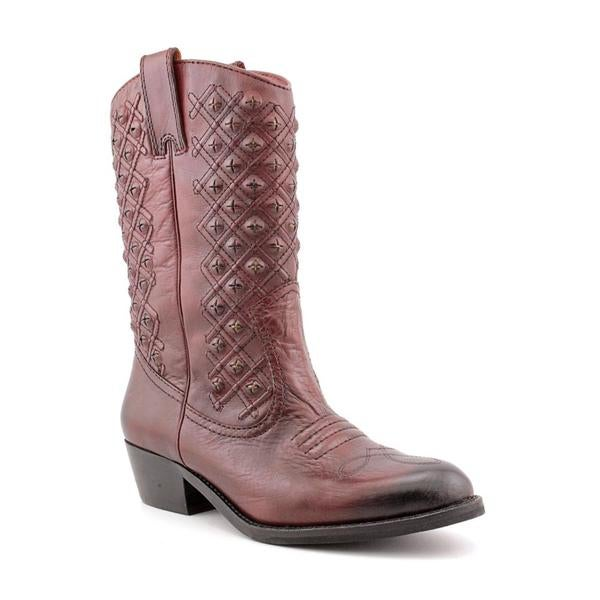 5c3ce574eab Shop Lucky Brand Women's 'MADONNA' Leather Boots - Free Shipping ...