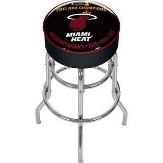 Miami Heat 2013 NBA Champions Bar Stool