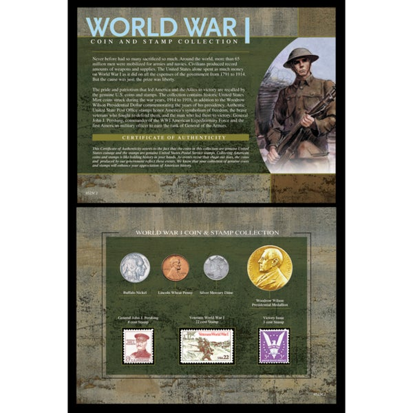 American Coin Treasures World War I Coin and Stamp Collection
