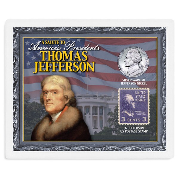 American Coin Treasures A Salute to America's Presidents - Thomas Jefferson