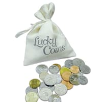 American Coin Treasures Lucky Coins in Canvas Bag