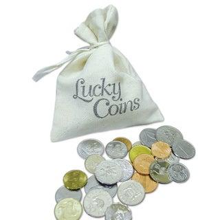 American Coin Treasures Lucky Coins in Canvas Bag