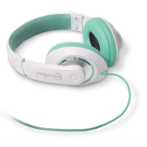 SYBA Multimedia TBinaural Design Teal/White Headset