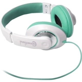 SYBA Multimedia TBinaural Design Teal/White Headset