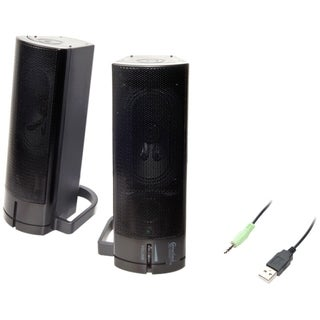 Connectland 2.0 Speaker System - 5 W RMS - Black