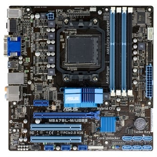 Asus M5A78L-M/USB3 Desktop Motherboard - AMD 760G Chipset - Socket AM