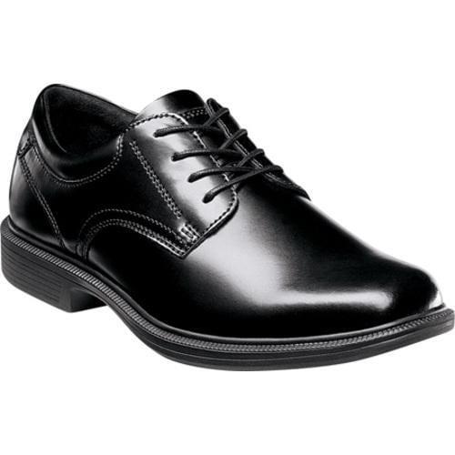 Men's Nunn Bush Baker St. Black Smooth Leather