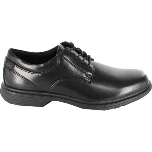 Shop Men S Nunn Bush Baker St Black Smooth Leather Free